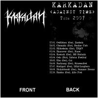 KARKADAN - Against Time Tour 2007 (T-Shirt M)
