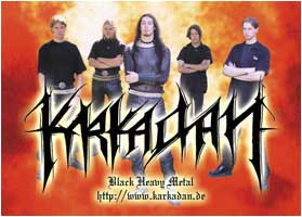 KARKADAN - Band (Sticker)