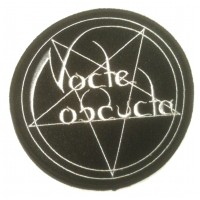 NOCTE OBDUCTA - Logo (PATCH)