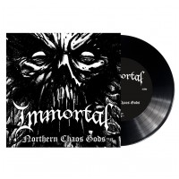 "IMMORTAL - Northern chaos gods [BLACK 7""] (EP)"