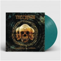 THE CROWN - Crowned In Terror [TEAL/CLEAR] (LP)