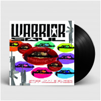 WARRIOR SOUL - Stiff Middle Finger [BLACK] (LP)